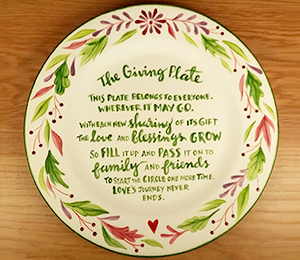 Rochester The Giving Plate