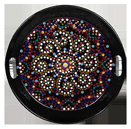 Rochester Mosaic Mandala Tray